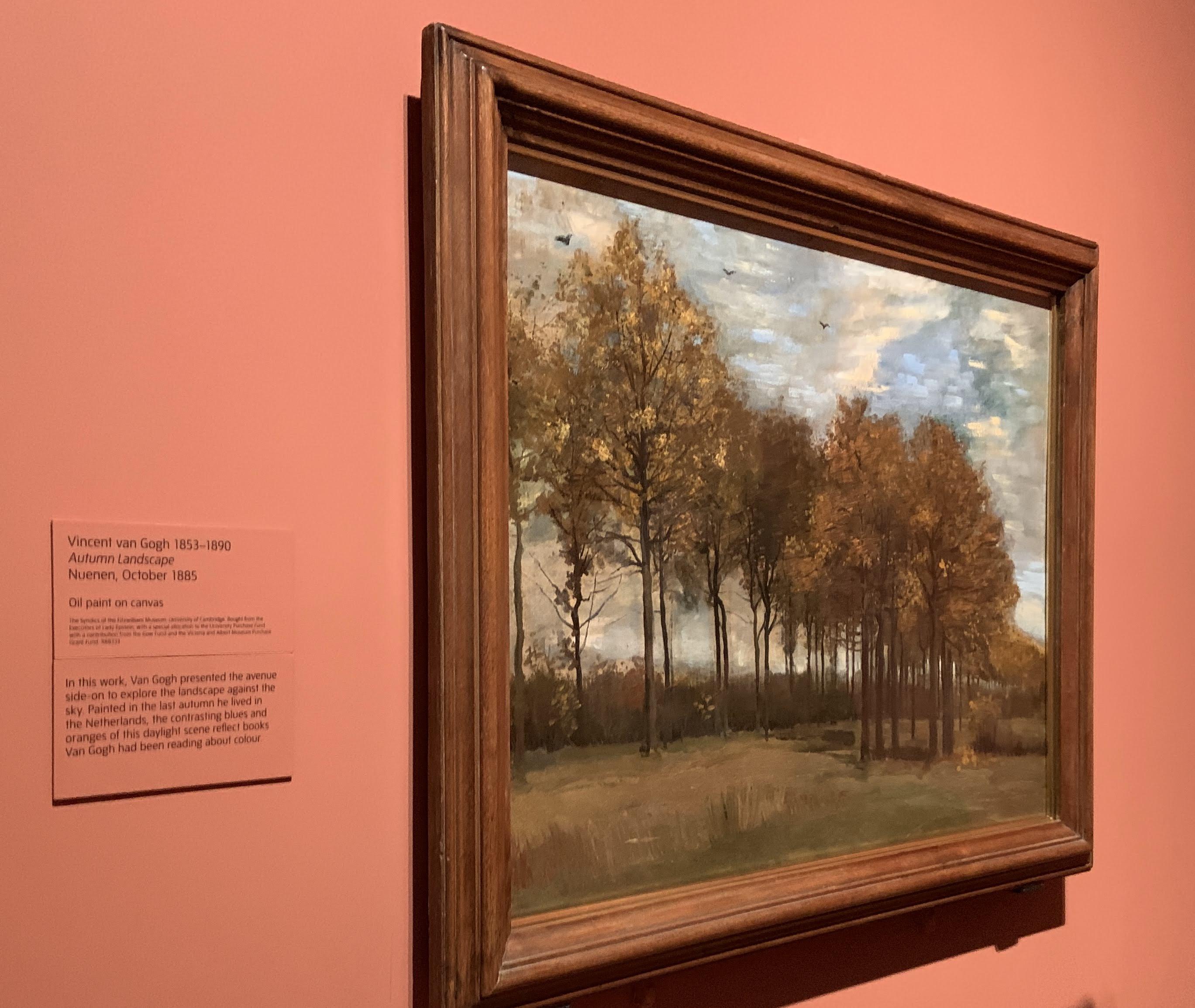 Vincent van Gogh - Autumn Landscape, 1885