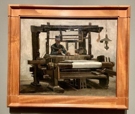 Vincent van Gogh - Loom with Weaver, 1884
