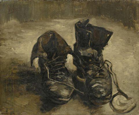 Vincent van Gogh – Shoes, 1886. Van Gogh Museum, Amsterdam (Vincent van Gogh Foundation)