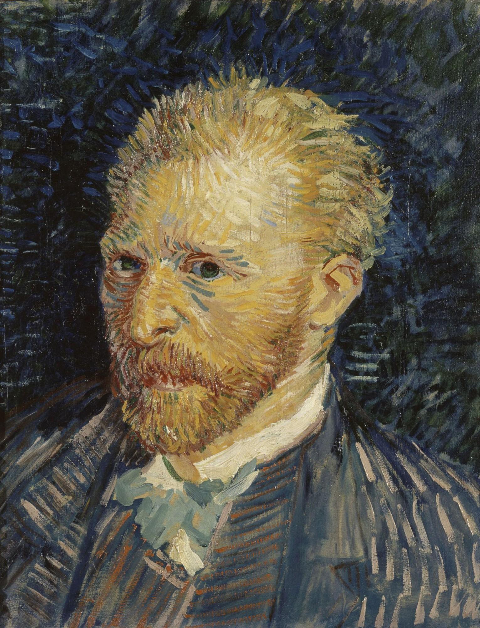 Vincent van Gogh - Self-portrait 1887